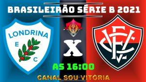 Assistir Londrina x Vitória ao vivo com imagens em IPTV grátis